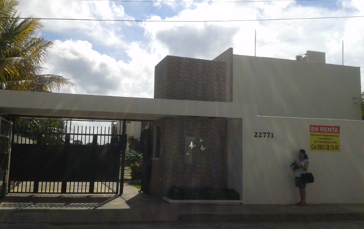 Foto de departamento en renta en  , cholul, mérida, yucatán, 1132283 No. 01