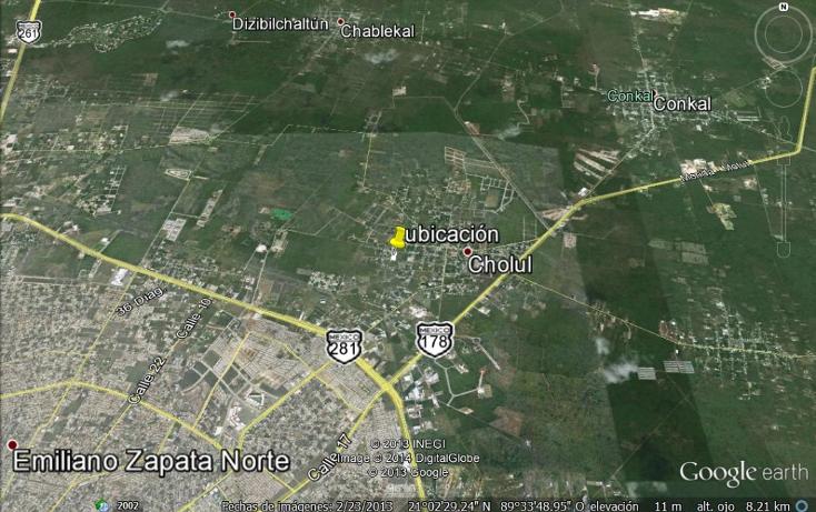 Foto de terreno comercial en venta en  , cholul, mérida, yucatán, 1133627 No. 03