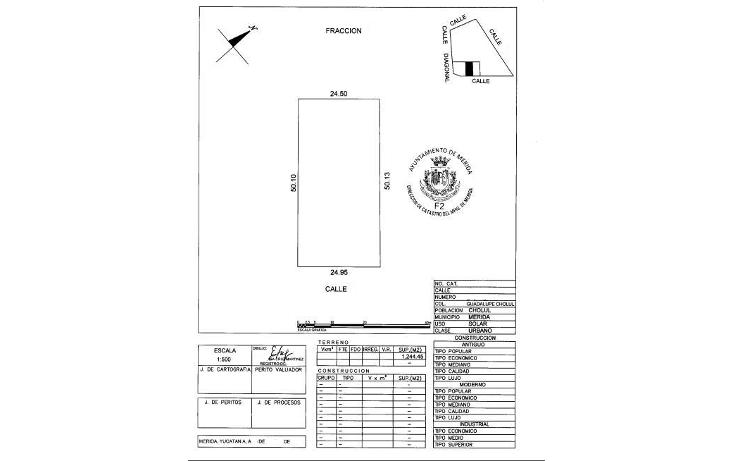 Foto de terreno habitacional en venta en  , cholul, mérida, yucatán, 1146151 No. 01
