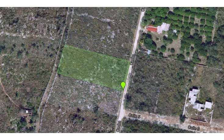 Foto de terreno habitacional en venta en  , cholul, m?rida, yucat?n, 1147891 No. 01
