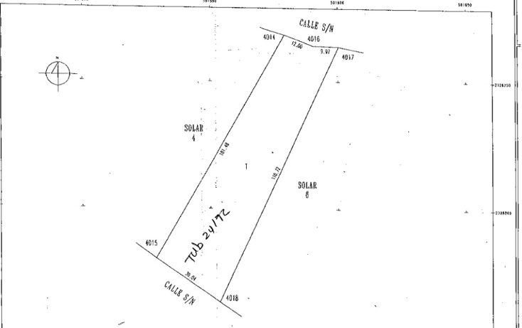Foto de terreno habitacional en venta en  , cholul, m?rida, yucat?n, 1148553 No. 01