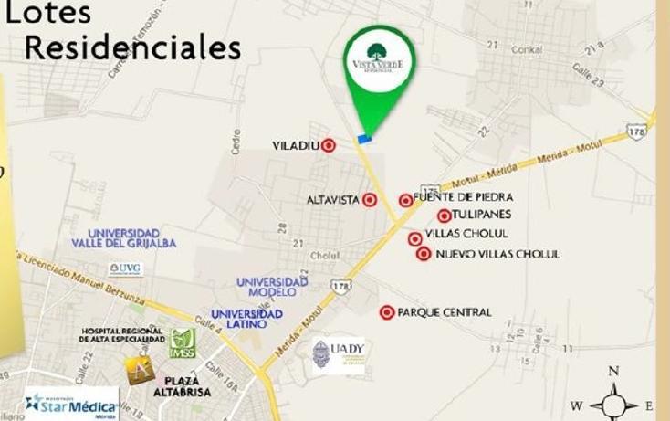 Foto de terreno habitacional en venta en  , cholul, mérida, yucatán, 1149283 No. 03