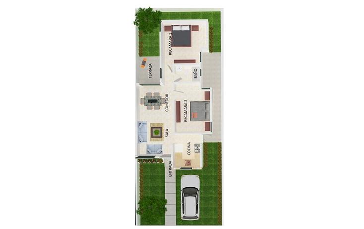 Foto de casa en venta en  , cholul, m?rida, yucat?n, 1161617 No. 02