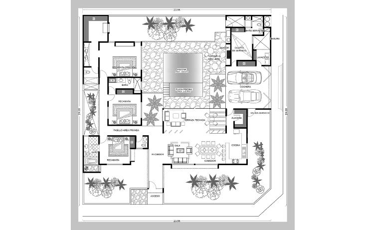 Foto de casa en venta en  , cholul, m?rida, yucat?n, 1165333 No. 06