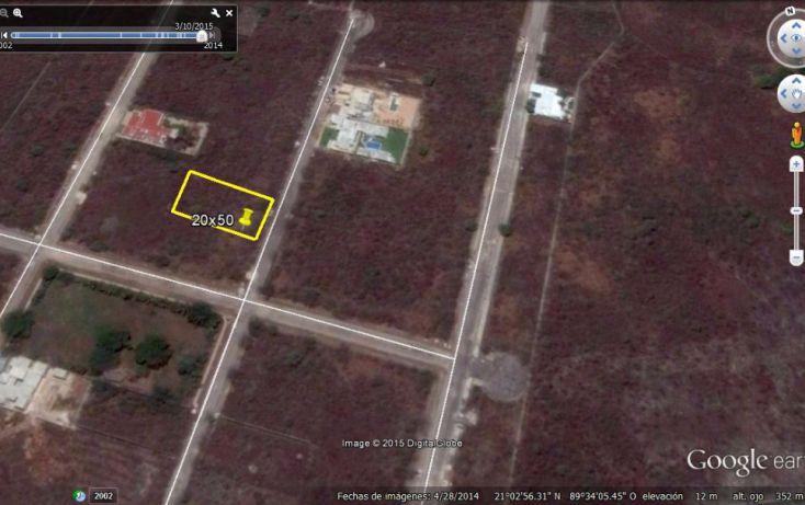 Foto de terreno habitacional en venta en, cholul, mérida, yucatán, 1166365 no 02