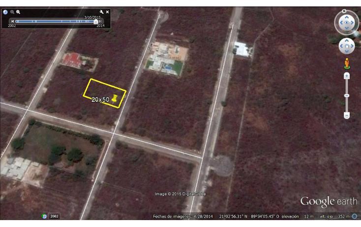 Foto de terreno habitacional en venta en  , cholul, mérida, yucatán, 1166365 No. 02