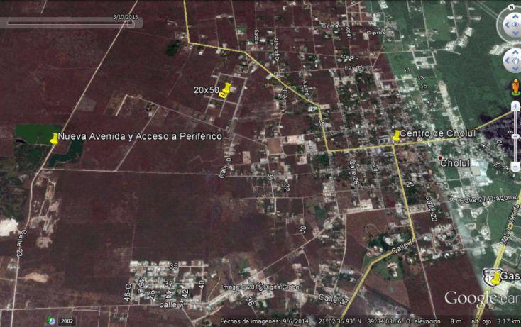 Foto de terreno habitacional en venta en, cholul, mérida, yucatán, 1166365 no 03