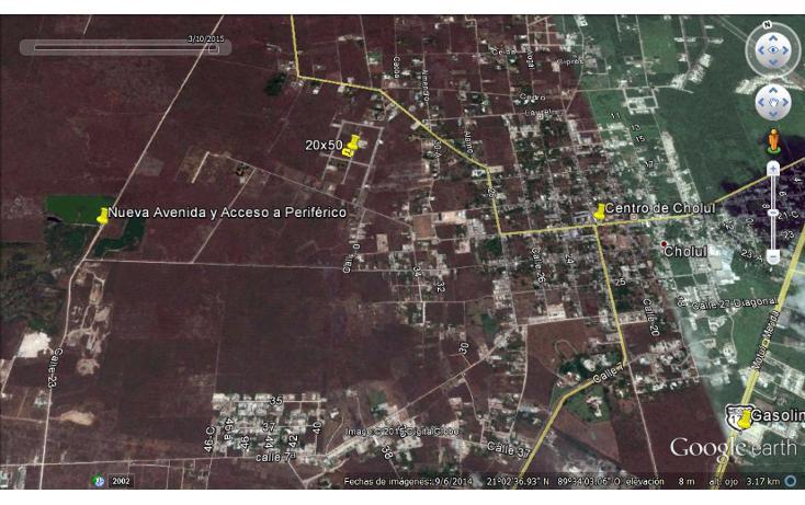 Foto de terreno habitacional en venta en  , cholul, mérida, yucatán, 1166365 No. 03