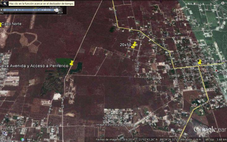 Foto de terreno habitacional en venta en, cholul, mérida, yucatán, 1166365 no 04