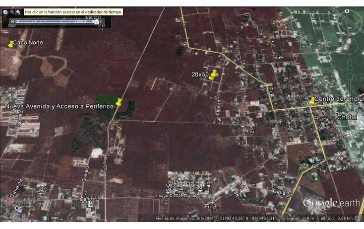 Foto de terreno habitacional en venta en  , cholul, mérida, yucatán, 1166365 No. 04