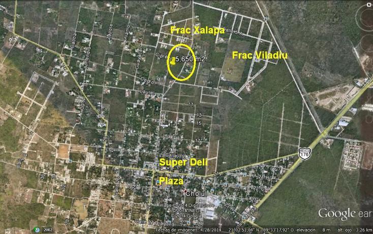 Foto de terreno habitacional en venta en  , cholul, mérida, yucatán, 1172555 No. 01
