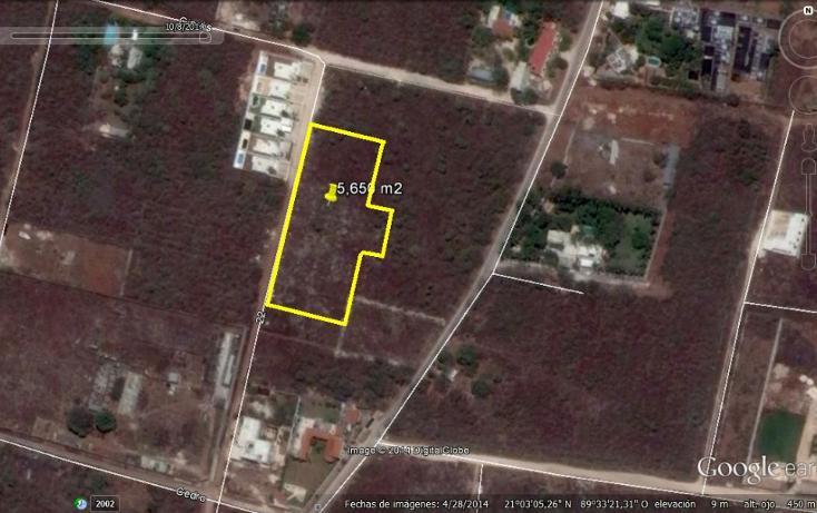Foto de terreno habitacional en venta en  , cholul, mérida, yucatán, 1172555 No. 02