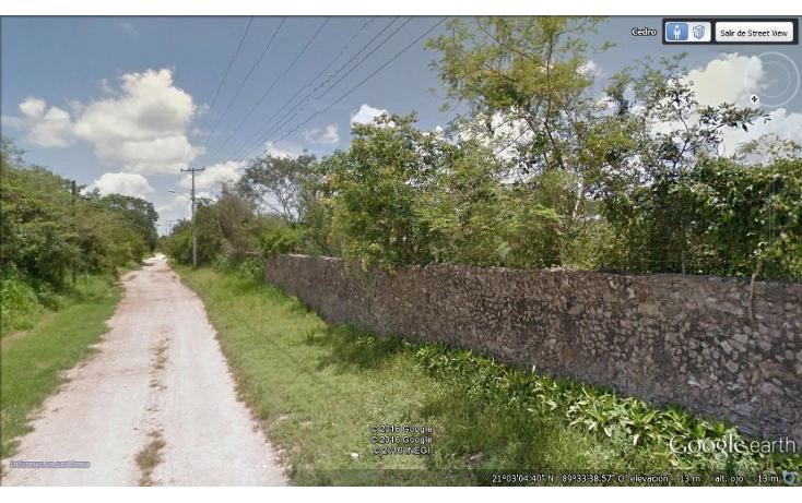 Foto de terreno habitacional en venta en  , cholul, mérida, yucatán, 1176223 No. 02