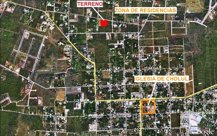 Foto de terreno habitacional en venta en  , cholul, mérida, yucatán, 1176223 No. 04