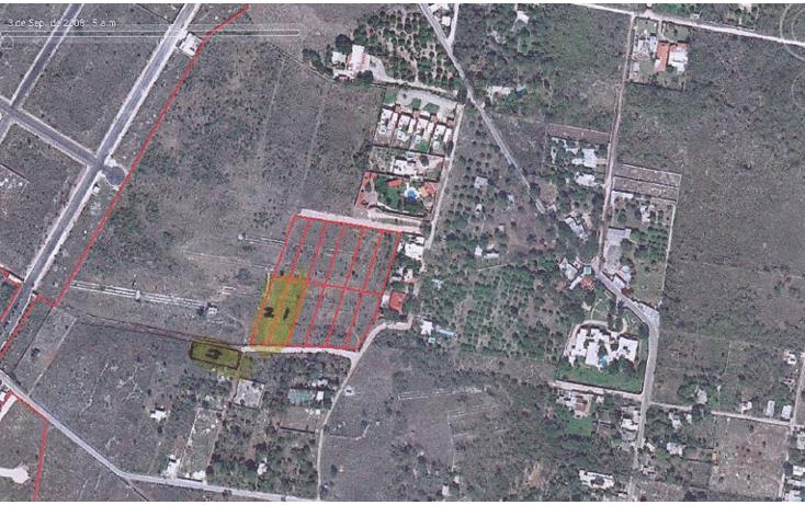 Foto de terreno habitacional en venta en  , cholul, m?rida, yucat?n, 1177049 No. 04