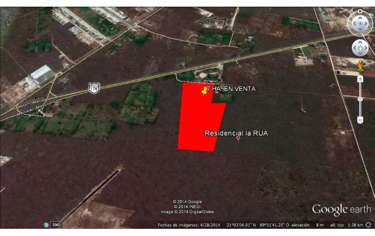 Foto de terreno habitacional en venta en  , cholul, mérida, yucatán, 1178623 No. 01