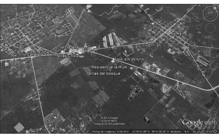 Foto de terreno habitacional en venta en  , cholul, mérida, yucatán, 1178623 No. 03