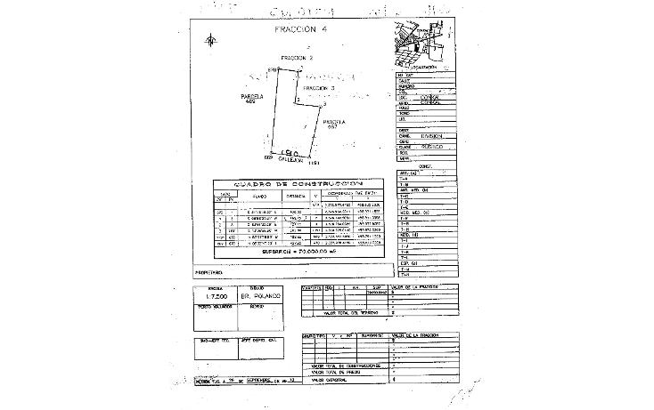 Foto de terreno habitacional en venta en  , cholul, mérida, yucatán, 1178623 No. 04