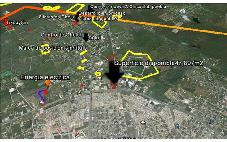 Foto de terreno habitacional en venta en  , cholul, mérida, yucatán, 1184565 No. 02