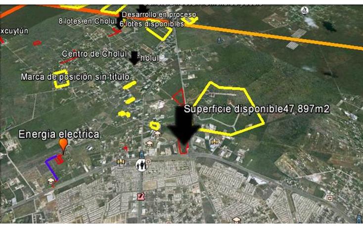 Foto de terreno habitacional en venta en  , cholul, mérida, yucatán, 1184565 No. 03