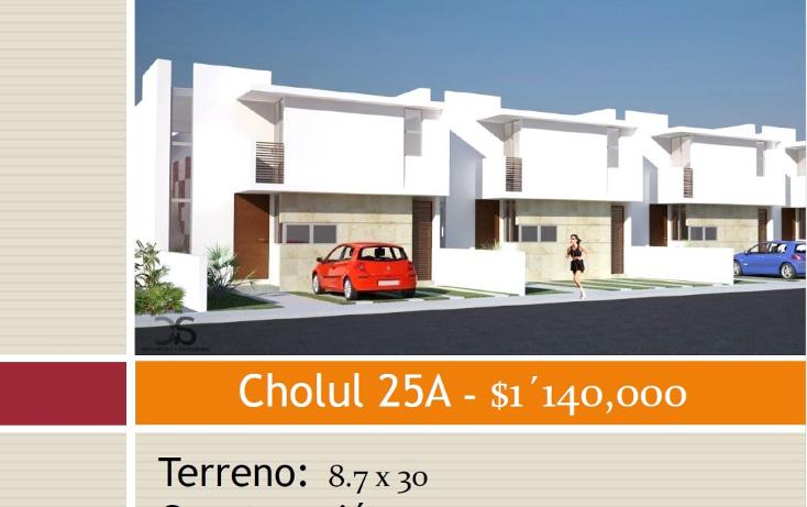 Foto de casa en venta en  , cholul, m?rida, yucat?n, 1198767 No. 01