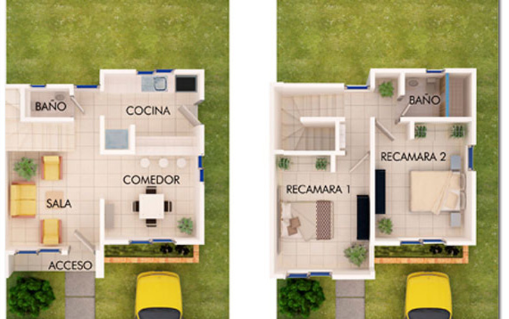 Foto de casa en venta en  , cholul, mérida, yucatán, 1203113 No. 02