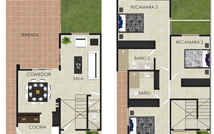 Foto de casa en venta en, cholul, mérida, yucatán, 1208975 no 06