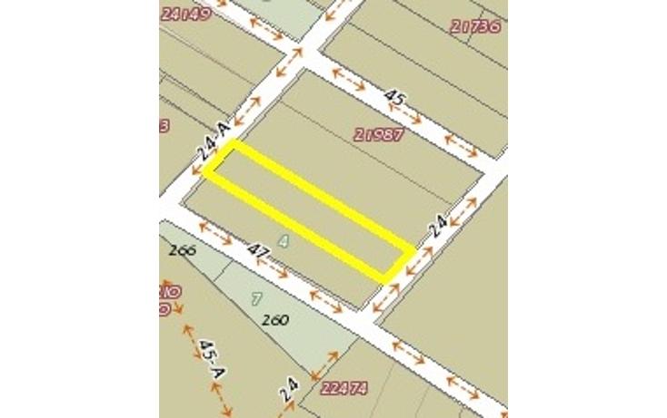 Foto de terreno habitacional en venta en  , cholul, mérida, yucatán, 1247785 No. 01