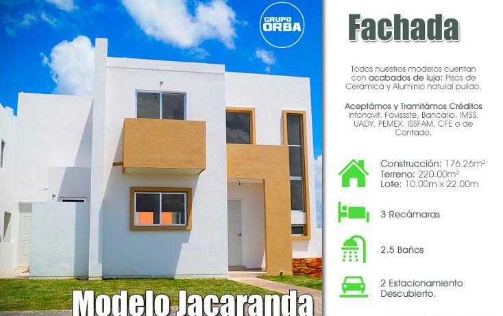 Foto de casa en venta en  , cholul, mérida, yucatán, 1261351 No. 01