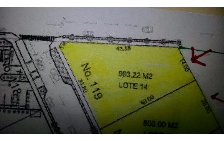 Foto de terreno habitacional en venta en  , cholul, m?rida, yucat?n, 1266891 No. 04