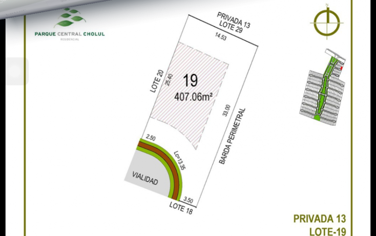 Foto de terreno habitacional en venta en  , cholul, mérida, yucatán, 1271257 No. 28