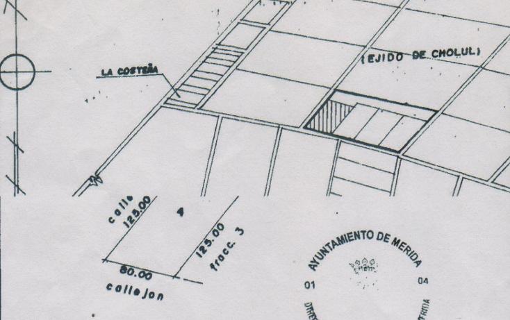 Foto de terreno habitacional en venta en  , cholul, mérida, yucatán, 1274275 No. 01