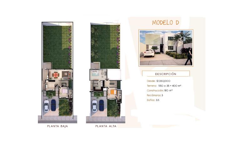 Foto de casa en venta en  , cholul, mérida, yucatán, 1276001 No. 07