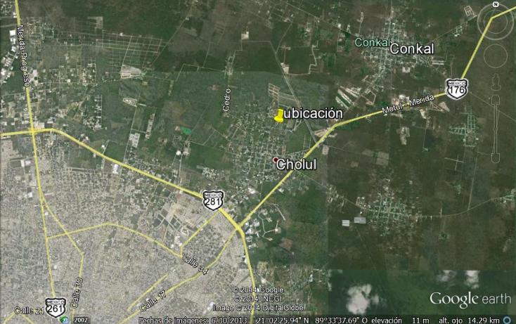 Foto de terreno habitacional en venta en  , cholul, mérida, yucatán, 1277553 No. 04