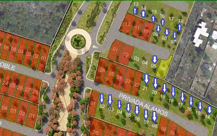 Foto de terreno habitacional en venta en  , cholul, mérida, yucatán, 1279019 No. 16