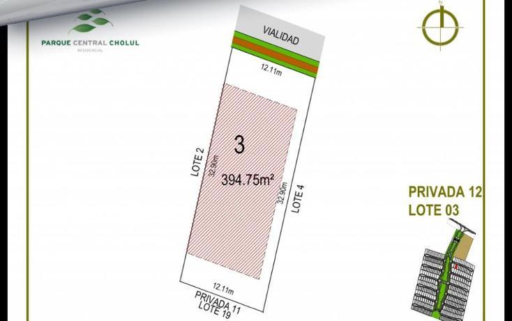 Foto de terreno habitacional en venta en  , cholul, mérida, yucatán, 1279019 No. 18