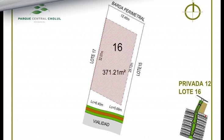 Foto de terreno habitacional en venta en  , cholul, mérida, yucatán, 1279019 No. 23