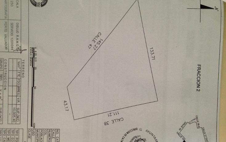 Foto de terreno habitacional en venta en  , cholul, mérida, yucatán, 1284945 No. 01
