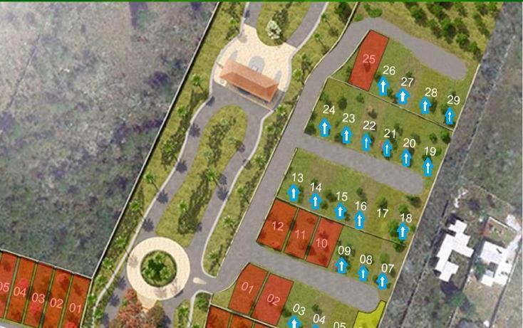 Foto de terreno habitacional en venta en  , cholul, mérida, yucatán, 1296191 No. 04