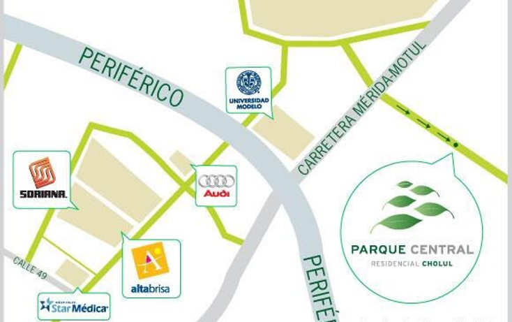 Foto de terreno habitacional en venta en  , cholul, mérida, yucatán, 1340101 No. 08