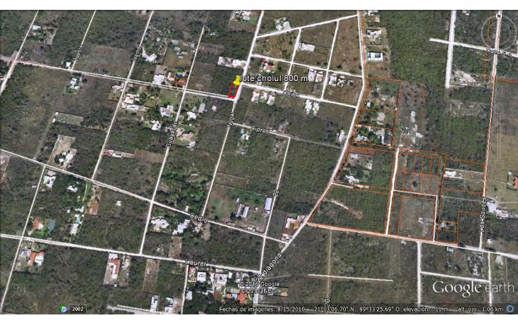 Foto de terreno habitacional en venta en  , cholul, mérida, yucatán, 1356925 No. 01