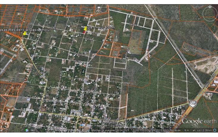 Foto de terreno habitacional en venta en  , cholul, mérida, yucatán, 1356925 No. 02