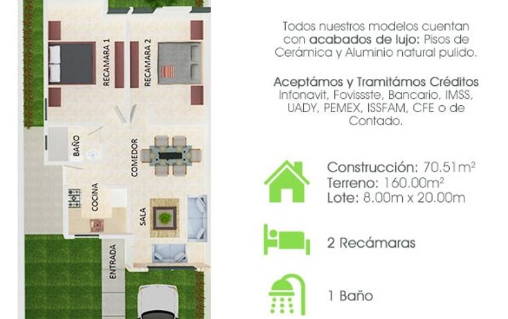 Foto de casa en venta en  , cholul, mérida, yucatán, 1361021 No. 02