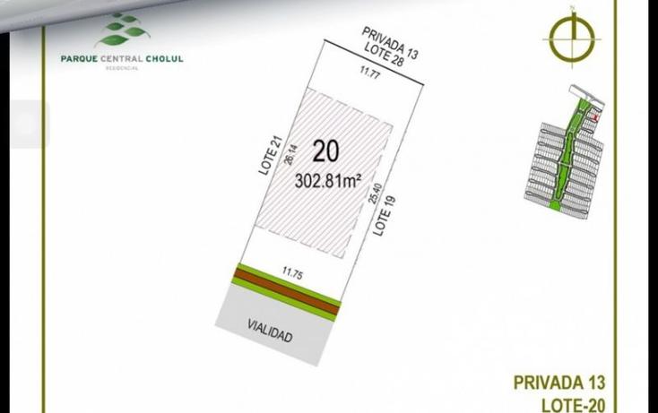 Foto de terreno habitacional en venta en  , cholul, m?rida, yucat?n, 1370155 No. 06