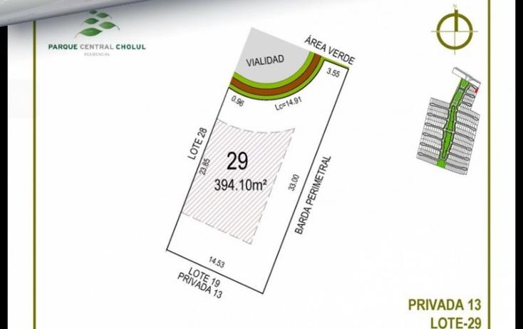 Foto de terreno habitacional en venta en  , cholul, m?rida, yucat?n, 1370155 No. 11