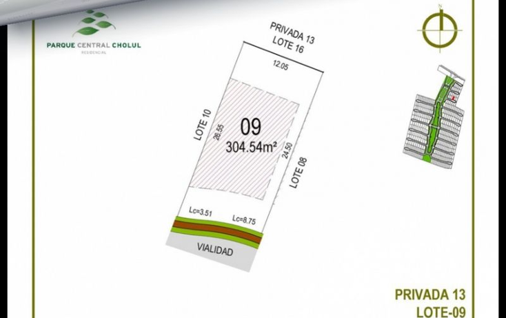 Foto de terreno habitacional en venta en  , cholul, m?rida, yucat?n, 1370155 No. 12