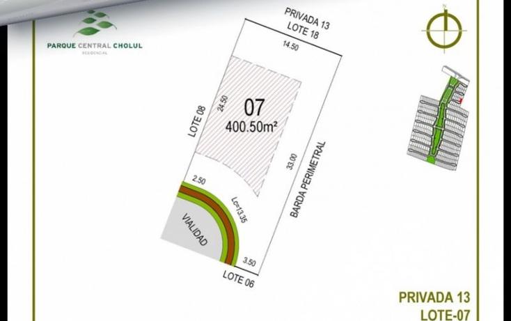 Foto de terreno habitacional en venta en  , cholul, m?rida, yucat?n, 1370155 No. 14