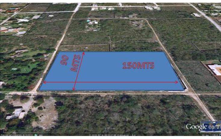 Foto de terreno habitacional en venta en  , cholul, mérida, yucatán, 1378701 No. 01