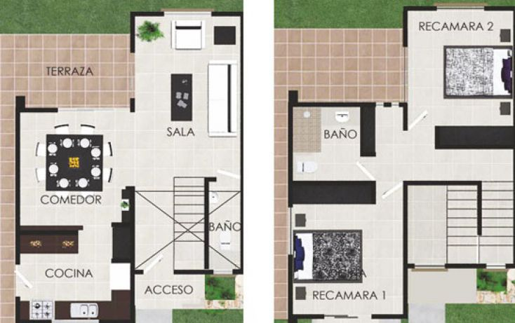 Foto de casa en venta en, cholul, mérida, yucatán, 1394261 no 03
