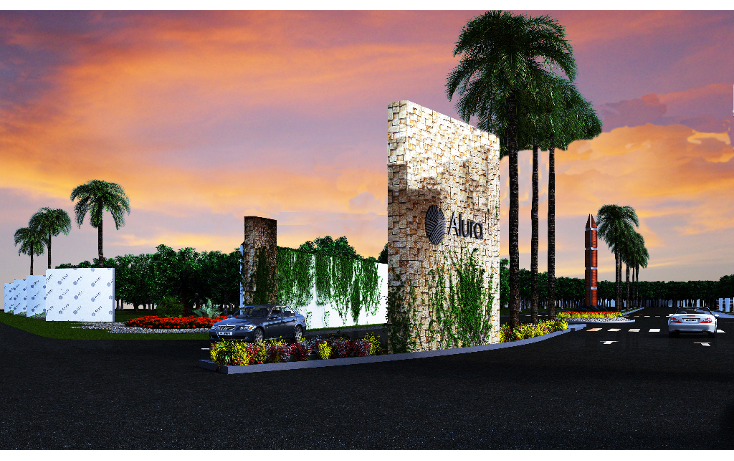 Foto de terreno habitacional en venta en  , cholul, mérida, yucatán, 1405347 No. 01